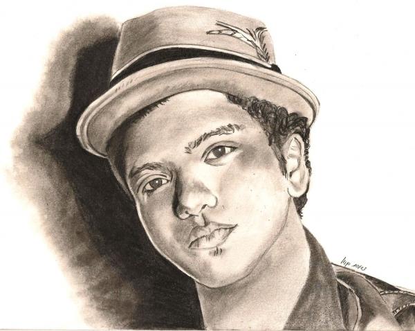 Bruno Mars by patrick